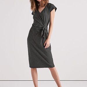 Lucky Brand Knitted Midi Dress